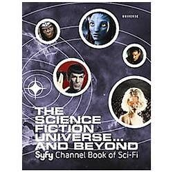 The Science Fiction Universe And Beyond Syfy Channel..new Illustrated Hardcover