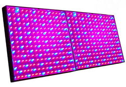 Two Grow Light Panel 225 Leds Blue+red For Green House, Hydroponic System
