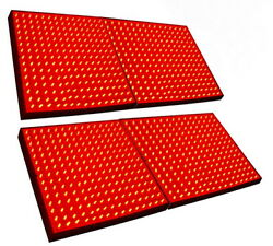 Four Grow Light Panel 225 Leds Red For Green House, Hydroponic System