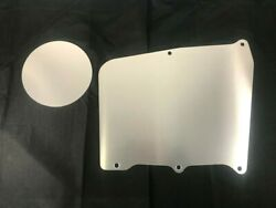 67-72 Gmc Truck Heater Delete Panel Plate Blower Cover No Holes