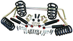 1964-66 Chevelle Stage 2 Suspension Kits Coil Springs 2 Front And Rear Drop