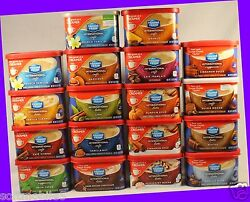 16 Cans Maxwell House International Cafes Lattes Cappuccinos Coffee Drink Mix