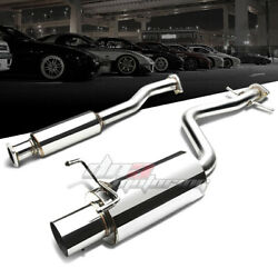 4muffler Tip Stainless Exhaust Catback System For 01-05 Altezza Is300 Xe10 3.0l