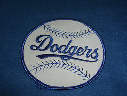 Vintage DODGES BASEBALL MLB Iron-on Patch Cloth Unused Condition NOS Badge