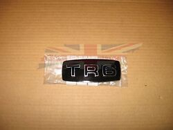 Brand New Metal And Enamel Grille Grill Badge Medallion For 1969-1976 Triumph Tr6