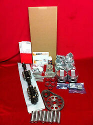 Cadillac 365 Master Engine Kit 1958 Pistons Rings Bearings Isky Cam 270h Perf