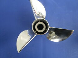 Ron Hill Cleaver Propeller 10 1/2 X 18 For 40-50 Hp Outboard F18r3r-117