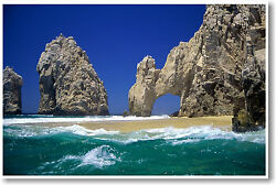 Cabo San Lucas Beach Paradise Vacation Travel Photo NEW POSTER