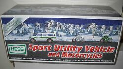 873 Nrfb Hess Gas Station 2004 Sport Utility Vehicle And Motorcycles
