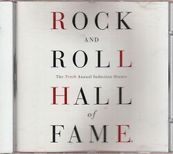 Rock And Roll Hall Of Fame 10th Induction Cd Allman Brothers Led Zeppelin Zappa
