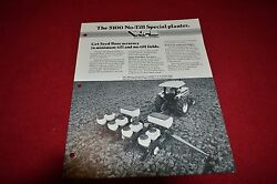 Oliver White Tractor 5100 No Till Special Planter Dealer Brochure S276 Lcoh