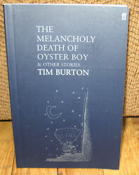 Signed Tim Burton The Melancholy Death Of Oyster Boy And And Other Stories Pb
