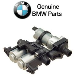 BMW E38 E39 Heater Control Valve With Auxiliary Water Pump OES 64118374994