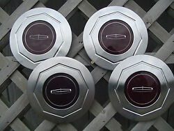 Premier Lincoln Mark Continental Town Car Hubcaps Wheel Covers Center Caps