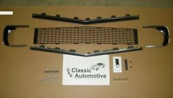 Grill Kit 89pc W/moldings/hardware/bezels/rs Emblem 67 68 Rs Camaro In Stock