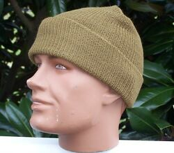 Coyote Hat Watch 12 Each Cap Wool Us Army Military Infantry Usmc Made Usa W P38