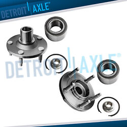 Front Wheel Bearing And Hub Set For 2001-2010 2011 2012 Ford Escape Mazda Tribute