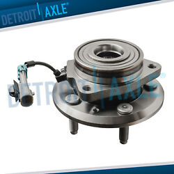 1 Front Wheel Hub And Bearing For 2007 - 2009 Chevy Equinox Torrent Xl-7 W/ Abs