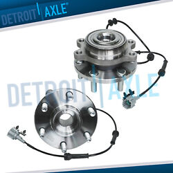 4wd 2 Front Wheel Hub And Bearing Fits Nissan Frontier Pathfinder Xterra Equator