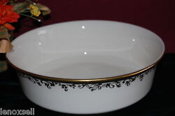 Lenox Eclipse Round Serving Bowl New Made In Usa Free Shipping