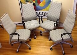 4 Krug Dorso S-line Executive Office Comfort Chair Msrp Over 1500 Per Piece