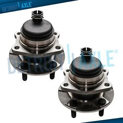 Set Of 2 New Rear Wheel Hub And Bearing Assembly For Grand Caravan W/ Abs