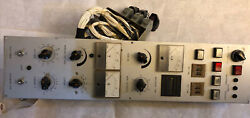 Okuma Howa Cnc Control Panel,wire Feedrate,volts,amps A660-2001-t992,display,dc