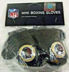 Nfl Washington Redskins 4 Inch Mini Boxing Gloves For Mirror By Fremont Die