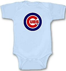 Chicago Cubs Baseball Baby Bodysuit Cute New Gift Choose Size & Color All Season