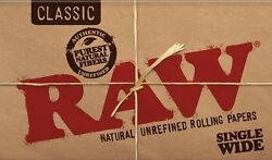 Raw Rolling Variation Paper Classic, Cones, King Size, Filters, Hemp And More..