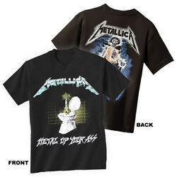 METALLICA T-Shirt Metal Up Your Ass New Authentic Metal S-3XL $19.70