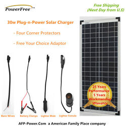 Sold Out Coming Soon 30w 30 Watt Polycrystalline Poly Solar Panel Charging