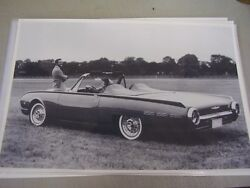 1962 Ford Thunderbird Sport Roadster 12 X 18 Large Picture / Photo