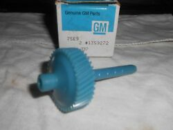 Turbo-hydramatic Transmission Speedometer Drive Gear 1359272 Nos Genuine Gm