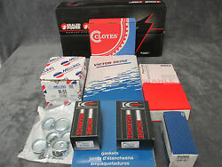 Ford 5.8l 351w Marine Engine Kit Pistons Gaskets Bearings 2 Pc