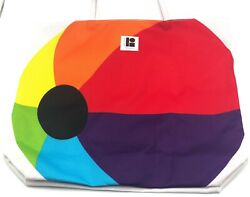 Lot of 2: Lisa Perry Estee Lauder Beach ball Cosmetic Bag Tote $6.99