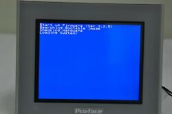 Pro-face Ast3301-s1-d24 3580207-01 Touch Screen Hmi Graphic Panel Lcd Tft