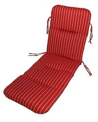Outdoor Chaise Cushion Made With Sunbrella Fabrics By Comfort Classics