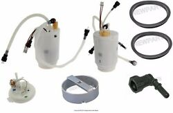 For Porsche 955 Cayenne S Turbo 03-06 Genuine Left And Right Fuel Pumps+connectors