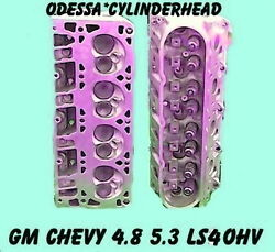 2 Gm Chevy 4.8 5.3 Ohv Ls4 Silverado Tahoe Cylinder Heads Cast 706 And 862 99-05