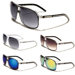 Biohazard Aviator Retro 80#x27;s Men#x27;s Women#x27;s Designer Sunglasses Black White Brown