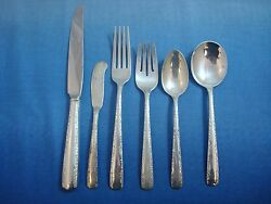Camellia By Gorham Sterling Silver Flatware Set For 8 Service 52 Pieces