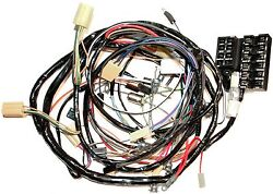 1962 Corvette Wiring Harness Dash And Forward Lamp Us Reproduction C1 New