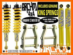 Mazda Bt50 2011-20 Coil Spring / Archm4x4 2inch 50mm2 Inch Suspension Lift Kit