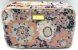 New Estee Lauder Aerin Lauder Flower Cosmetic Bag Pouch Magnetic Closure $6.45