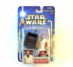 Star Wars Attack Of The Clones,anakin Skywalker With Force Action,collectible
