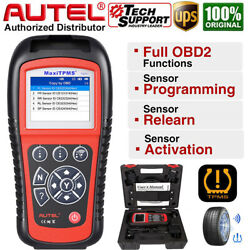 Autel Ts601 Car Tire Pressure Tpms Programming Diagnostic Reset Tool Code Reader