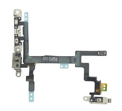 100 Original Iphone 5 5g Power Volume And Mute Button Flex Cable And Brackets