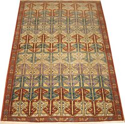 Antique Mysterious Golden Turkish Melas Caucasian Shirvan Rug Size 3and0397and039and039x5and0397