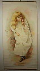 Antique B.t. Babbitt's Best Soap Poster With Brownies C1893